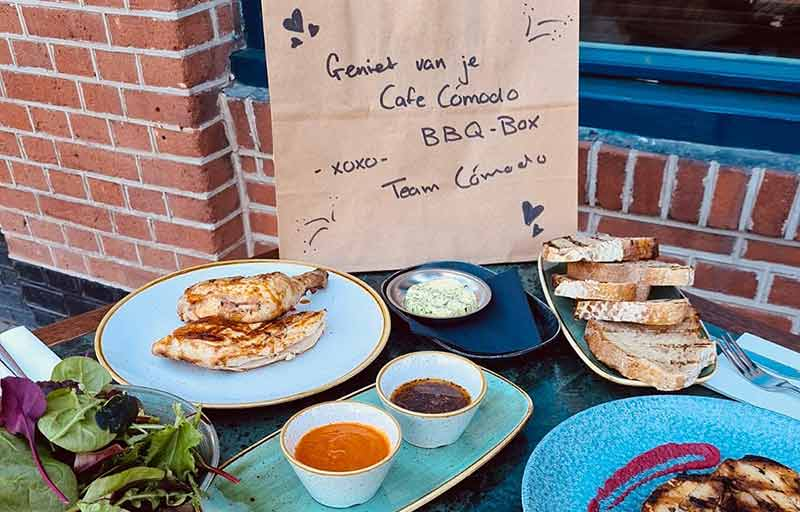 Cafe Comodo Amsterdam - BBQ-pakket