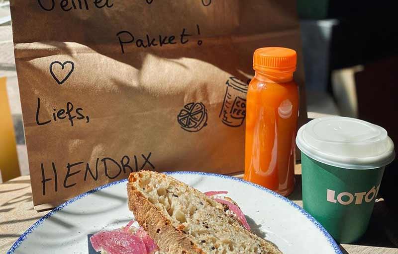 Hendrix Amsterdam Lunchpakket Takeaway