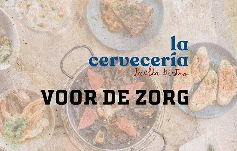 Maaltijden La Cerveceria Amsterdam voor de zorg OLVG Oost