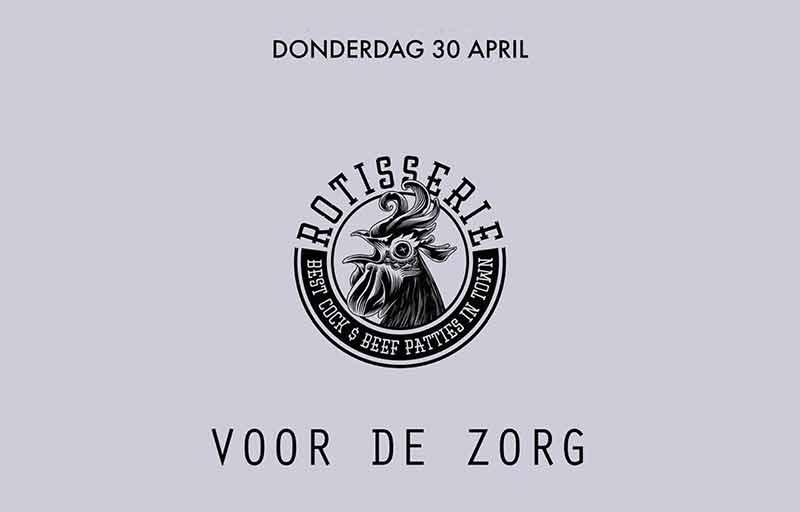 Maaltijden Rotisserie Amsterdam voor de zorg OLVG Oost